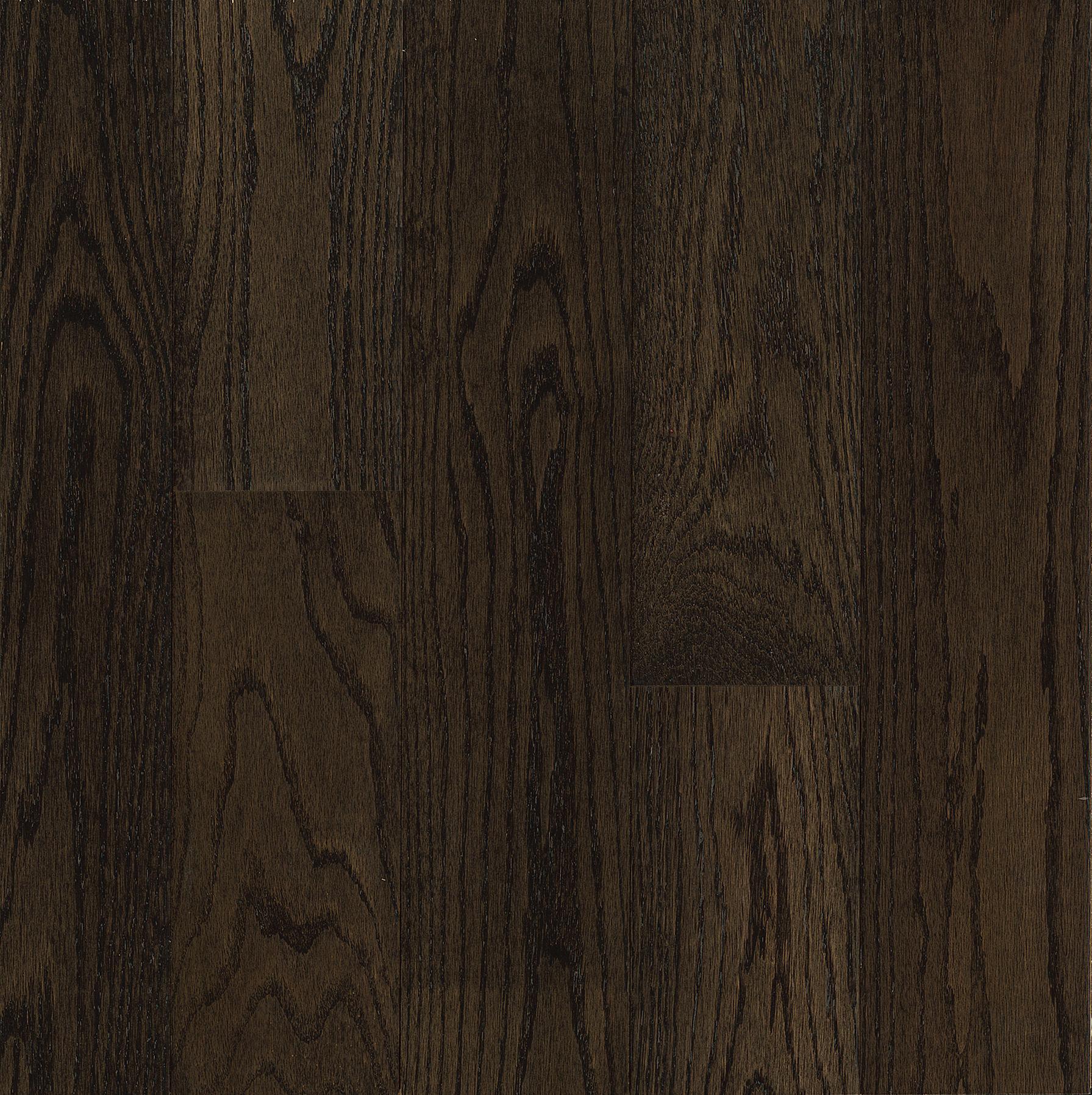 Blackened Brown Northern Red Oak