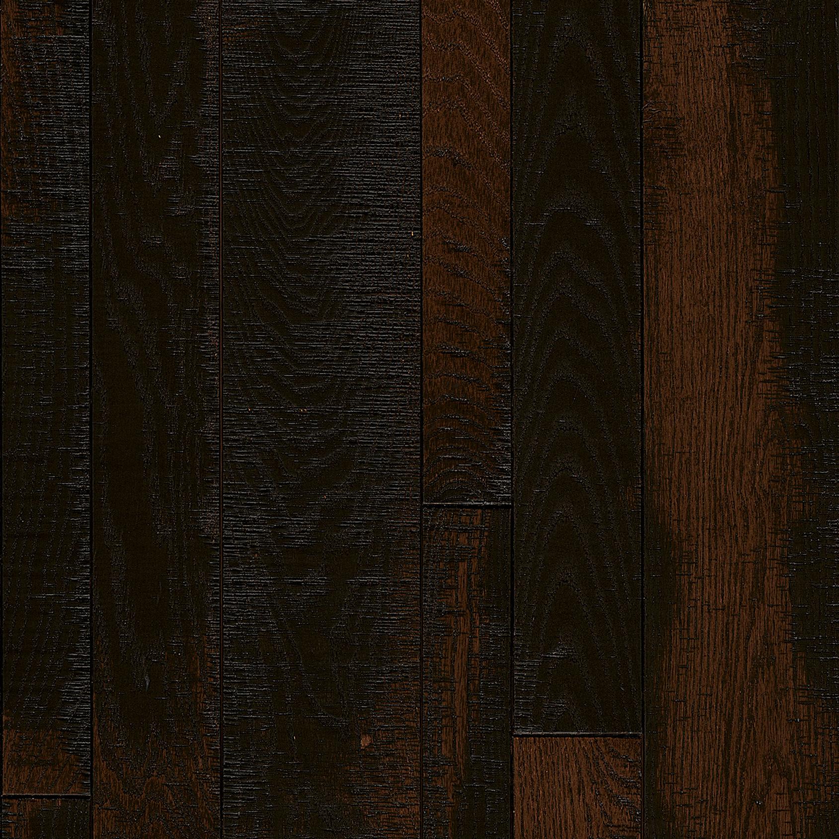Layered Burgundy Red Oak