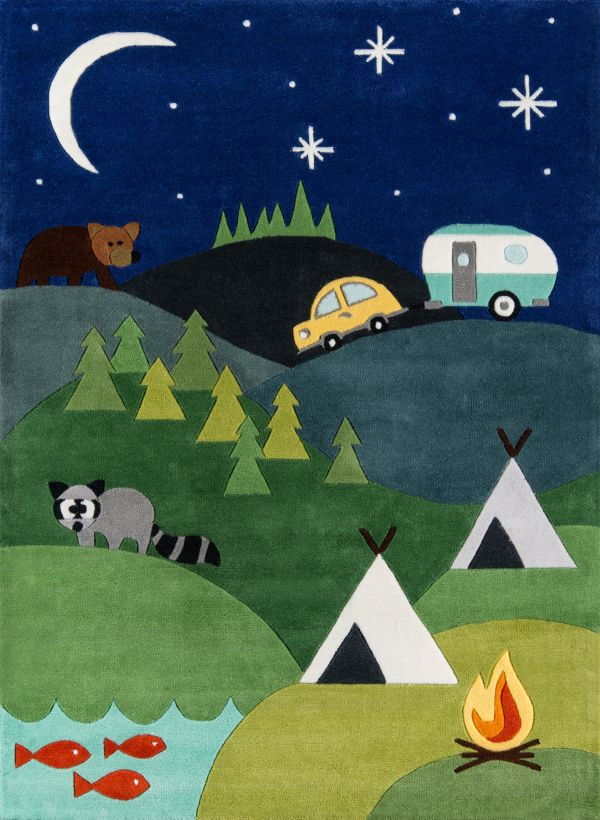 Camping Area Rug