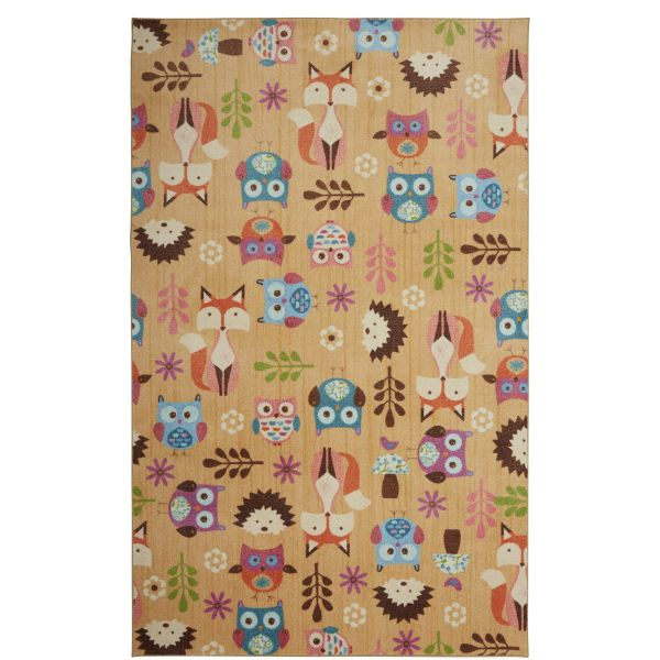 Animal Toss Area Rug