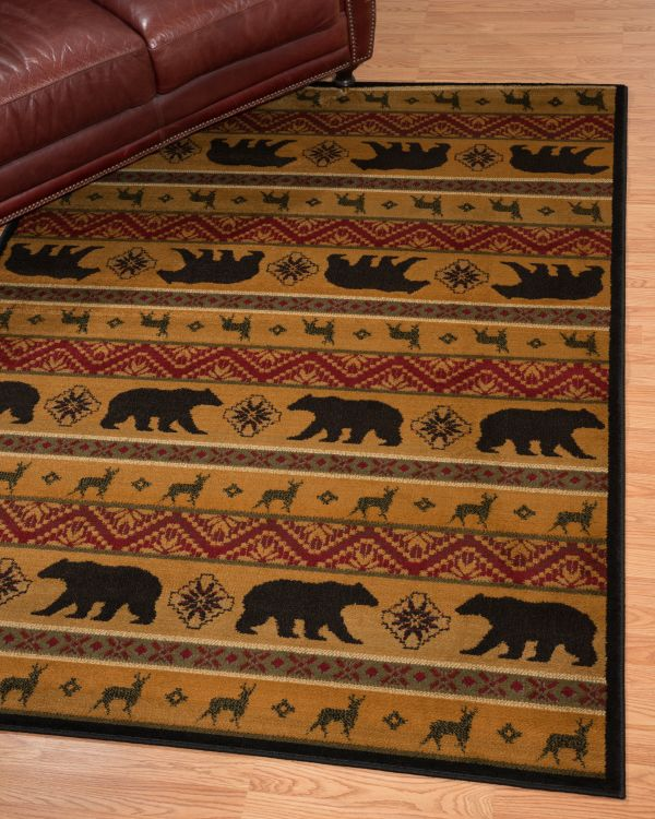 Affinity Collection Nordic Bear rug
