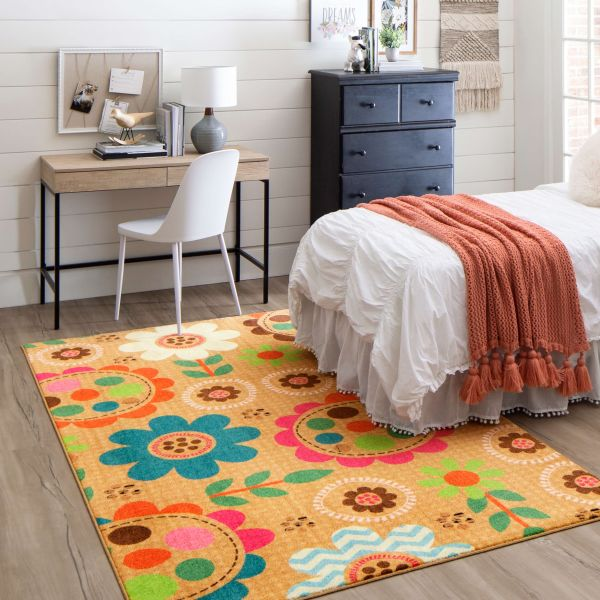 Prismatic Critters rug