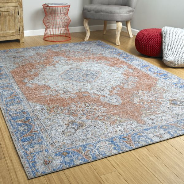 Kaleen Boho Rug in Copper