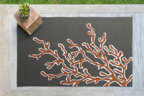 Kaleen Matira Tangerine Area Rug