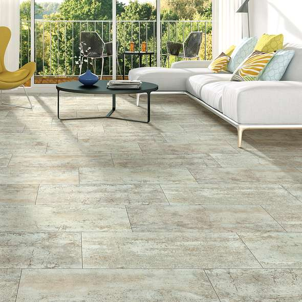 Stone Looking Vinyl Floor