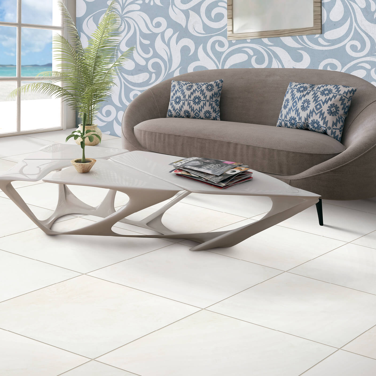 Rectified Tile by Love Seat