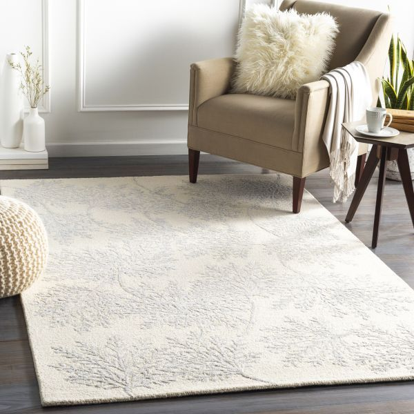 Room with Light Area Rug