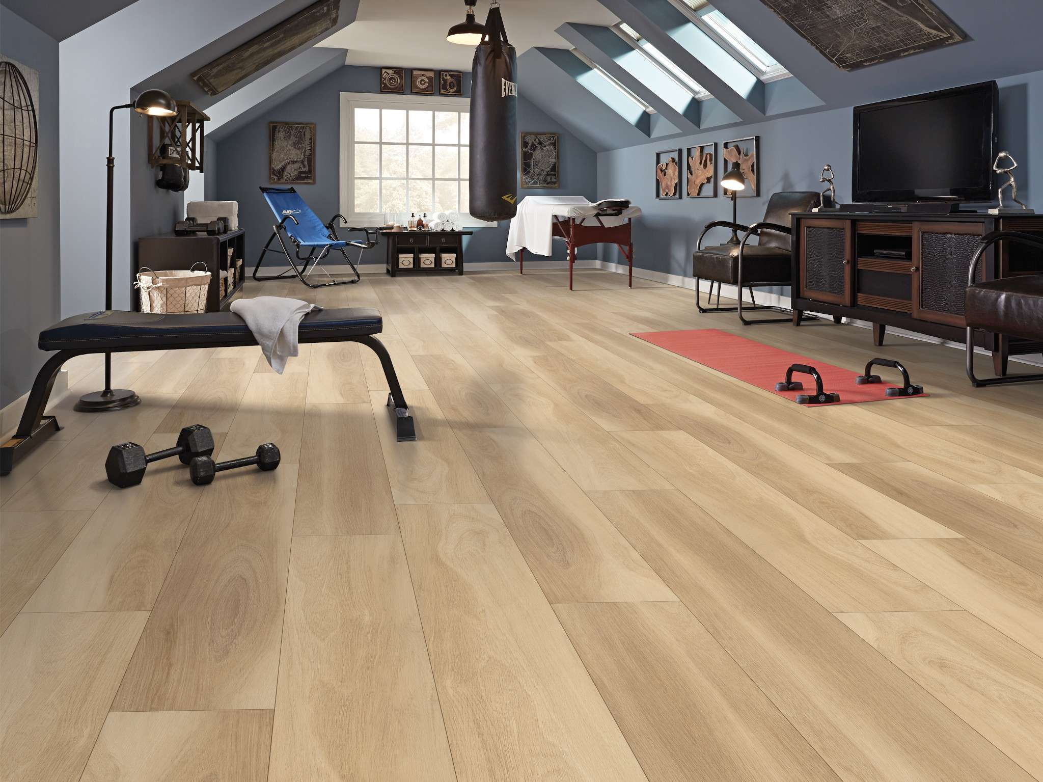 Our Favorite Home Gym Flooring Options